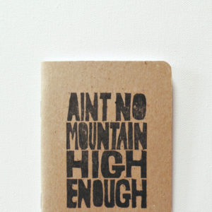 Ain't no mountain high enough