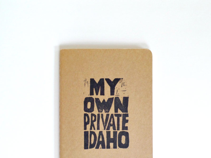 messy bed studio moleskine notebook my own private idaho