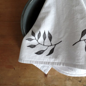 Botanical Flour Sack Towel