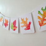 Fall party banner