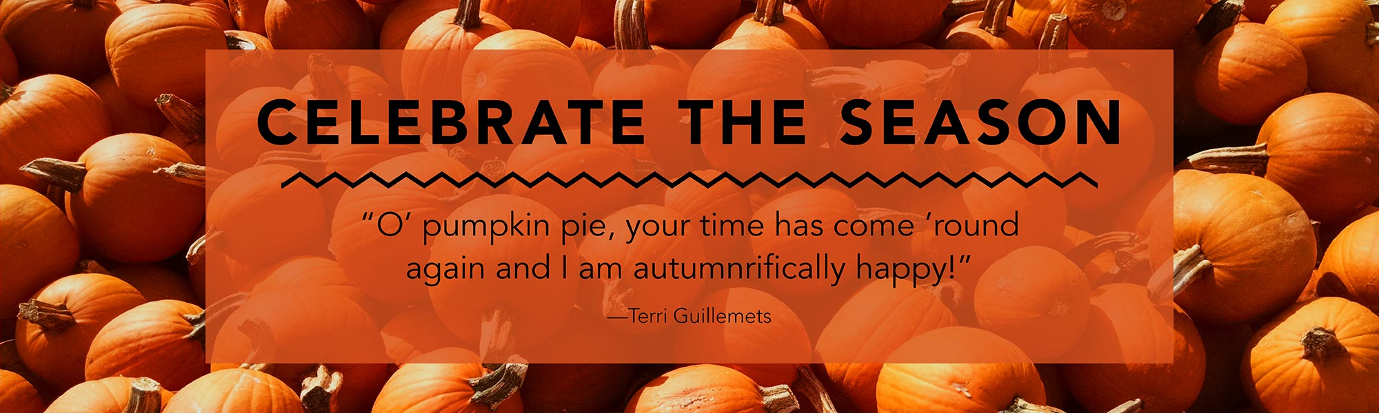 messy bed studio fall quote pumpkins