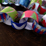 old fashioned paper chain kit