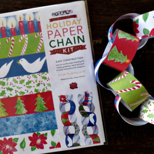 Christmas paper chain decorating kit