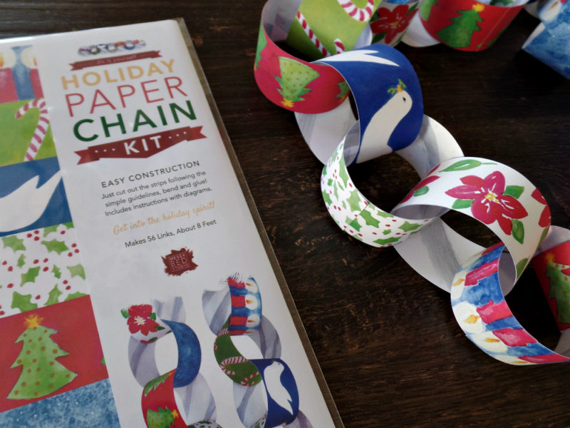 paper chain craft kit