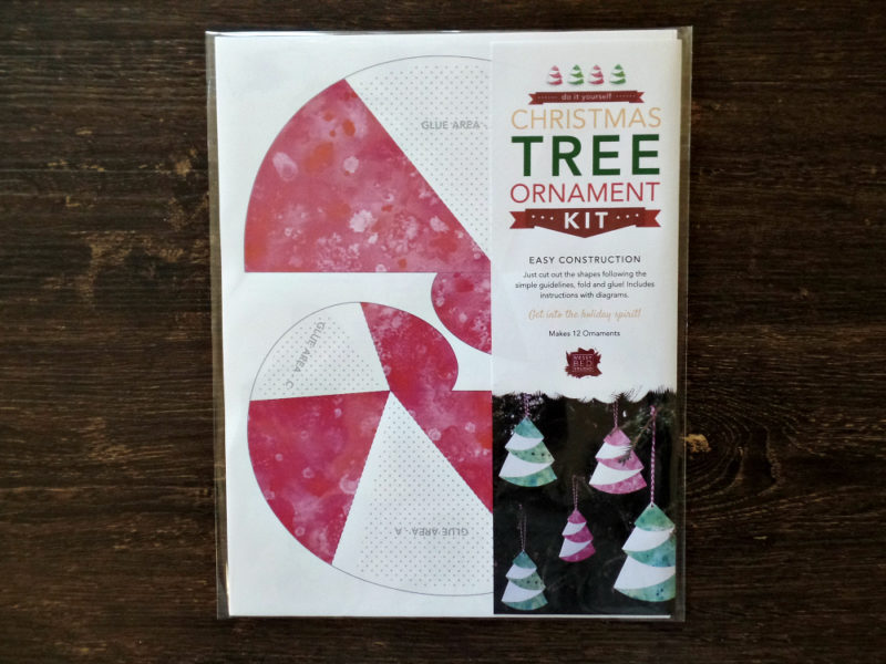 Christmas ornament kit from messy bed studio