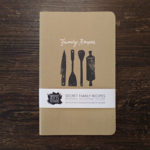 Family Recipes Book by messy bed studio