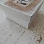 mixed media trinket box