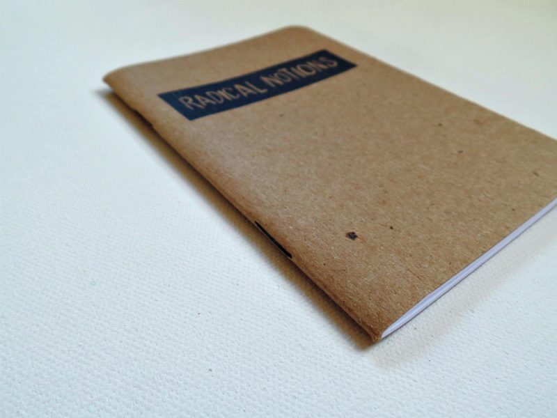 radical notions planner notebook