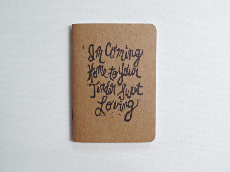Leon Bridges song lyrics pocket journal