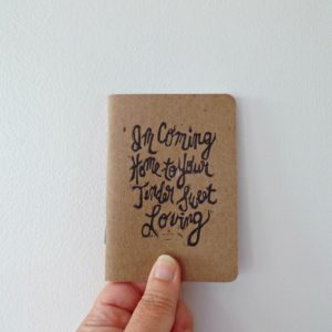 baby baby baby song lyrics small notebook in hand