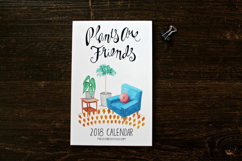 plants are friends 2018 calendar