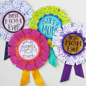 4 best mom ever prize ribbon designs for mothers