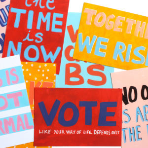 printable protest postcards