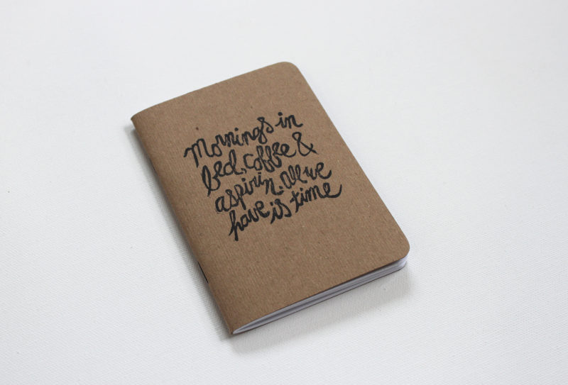 all we have is time notebook