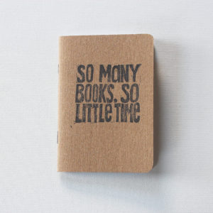 so many books so little time quote notebook